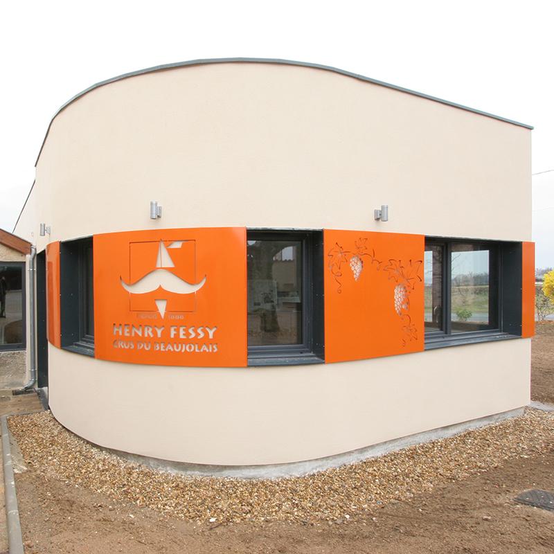 Bâtiment de bureaux – St-Jean-d'Ardières (69)
